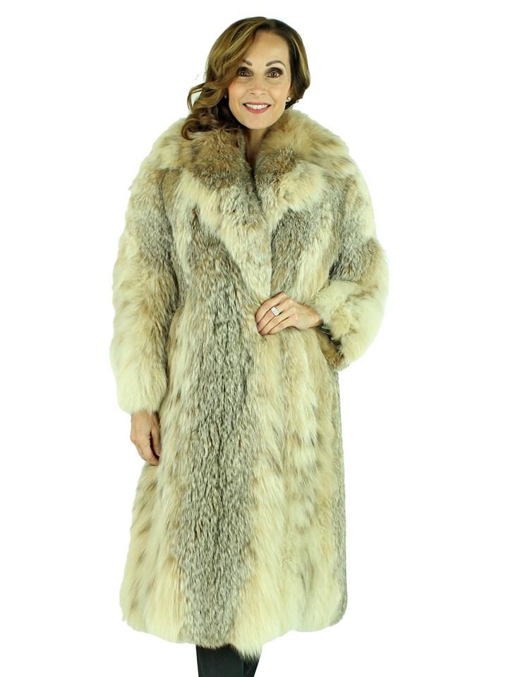 Woman's Canadian Lynx Fur 7/8 Coat
