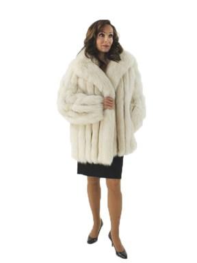 White Shadow Fox Jacket