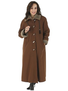 Chestnut Gabardine all weather coat