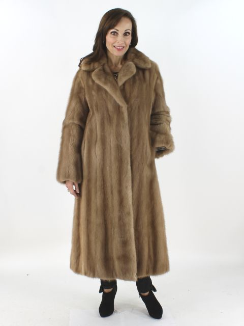 Pastel Mink Fur Coat Women S Small Estate Furs