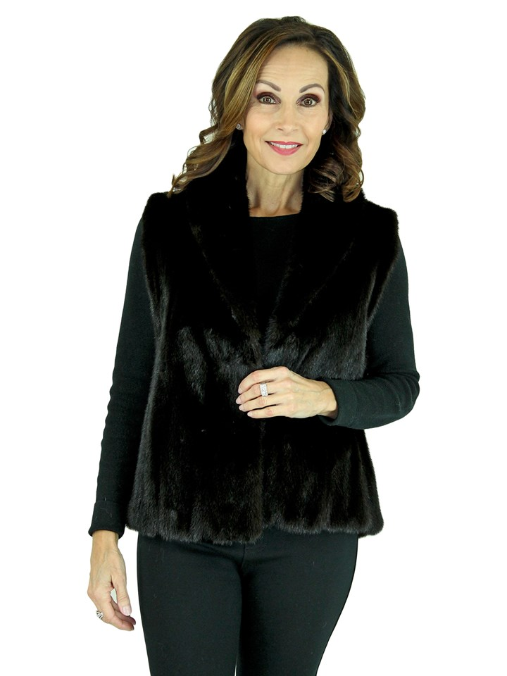 Women's Ranch Female Mink Fur Vest