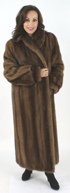 Warm and Luscious Full Length Lunaraine Mink Coat