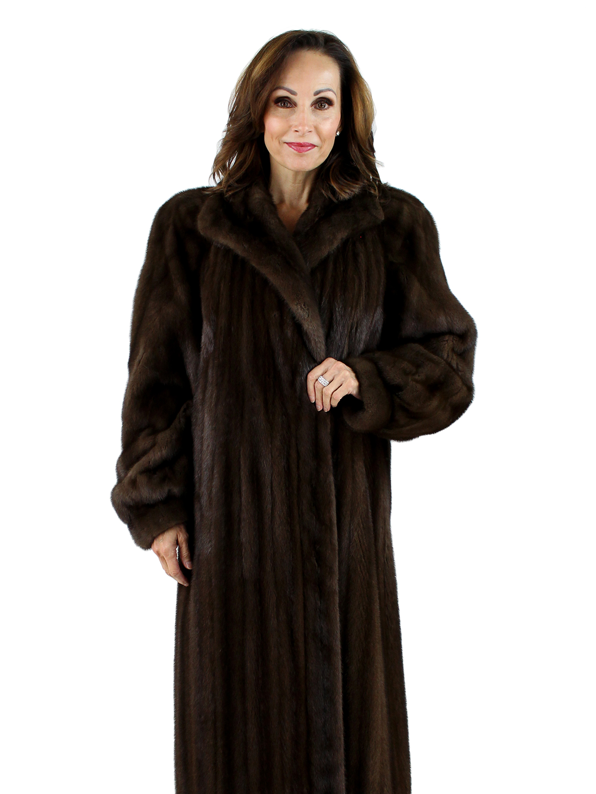 Mink Coat Value >> Lunaraine Female Mink Fur Coat - Women's Large | Estate Furs