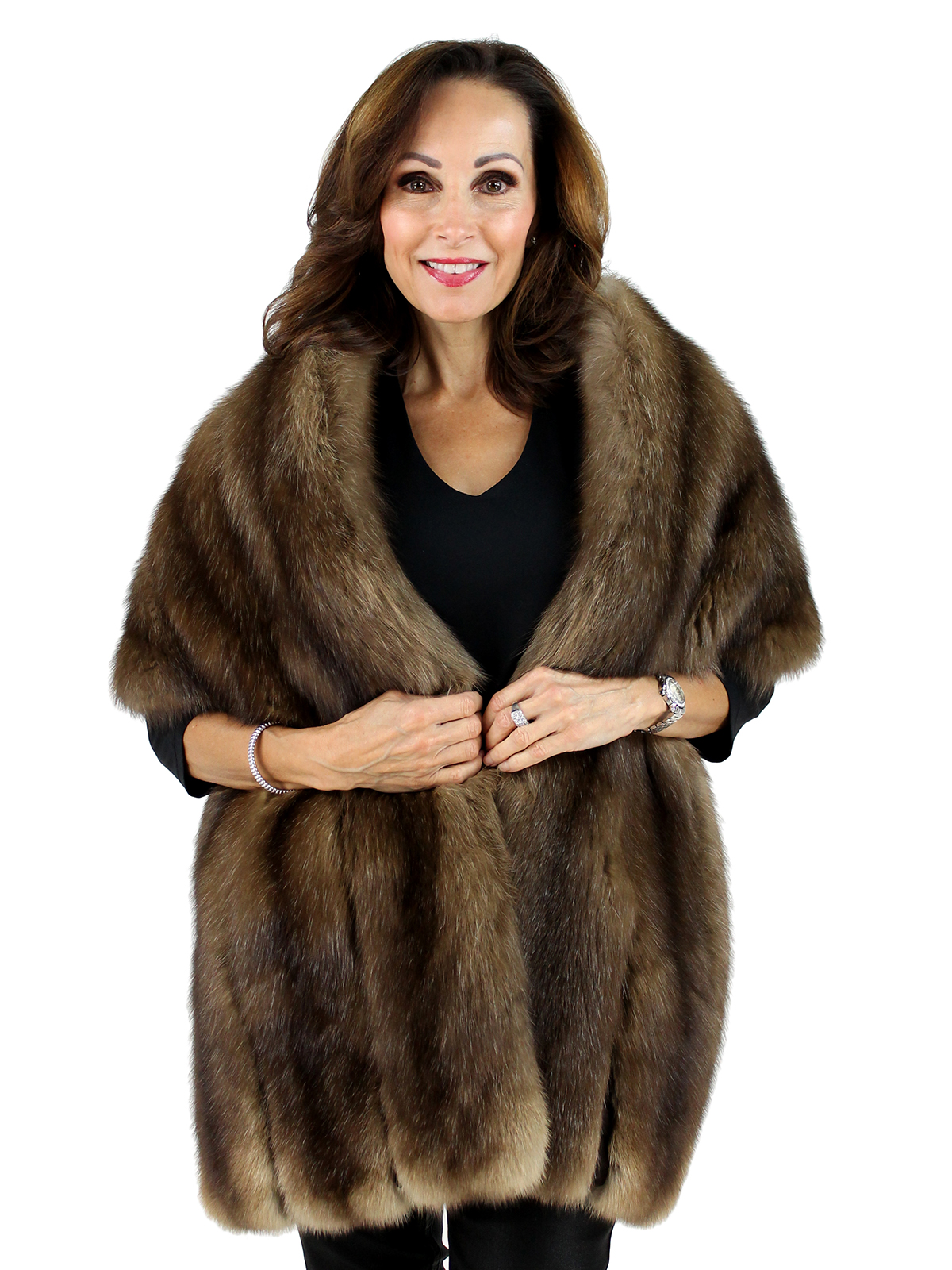 Sable Fur Stole One Size Fits All Estate Furs